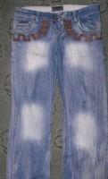 Versace jeans, кожаная куртка с тканевым капюшоном