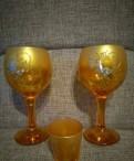 Набор бокалов для вина и рюмок