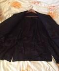 Пиджак черный 5xl (шит на заказ), куртка baon мужская