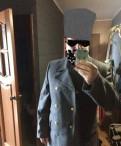 Шинель серая, мужские футболки дольче габбана