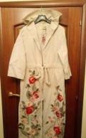 Кардиган Yuko Style, 100 лен, платье из красного льна