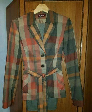 Красивая одежда для девушек интернет, костюм брючный DressCode, новый
