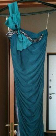 Платье вечернее, платье с баской 52 размер