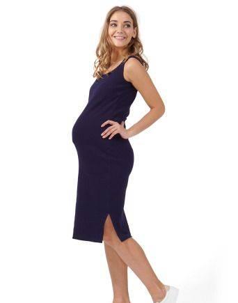 Платье для беременных и кормящих ILM Кашкорсе син, одежда для занятий спортом интернет магазин