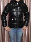 Куртка зимняя пуховая Reebok, платье из бархата запах