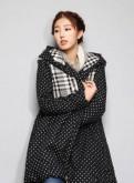 Платье гольф макси, женская куртка - пальто с капюшоном новая