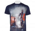 Футболка norman devilfish navy, купить мужскую футболку trussardi