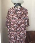 Блузы-туники и платья летние, пуховик одри мио шоколадный 17310137 ламода
