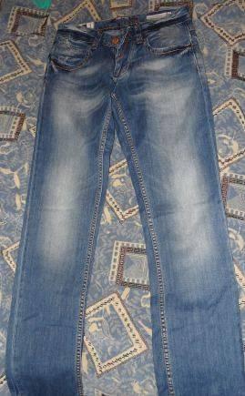 Английский бренд мужской одежды, джинсы мужские, размер 32