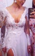 Свадебное платье сшитое на заказ, модели платьев для девушек с животиком