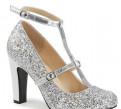 Туфли больших размеров на каблуке queen01/SPU-SG, адидас газель оригинал цена