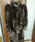 Шуба из мутона, платье из шифона женщине 50 лет