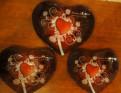 Набор тарелок-сердечек