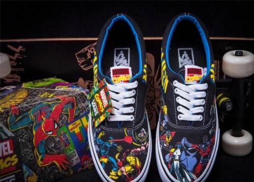 Ботинки мужские зимние дешевые, кеды Vans Marvel Comics X-Men