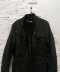 Куртка р.48-50, рубашка tommy hilfiger мужская черная