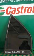Форточка двери задней левой Lancer Cedia (CS) 8, задний бампер на фольксваген поло седан 2013 года