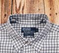 Рубашка в клетку Ralph Lauren L 15788, куртка мужская на натуральном меху