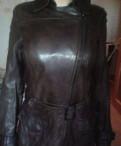 Коженная куртка marc O'polo, меховая жилетка интернет магазин
