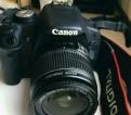 Canon 500d + 18-55 с сумкой