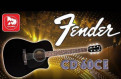 Гитара электроакустическая fender CD-60CE BLK
