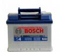 Аккумулятор bosch silver (S4 006) - 60А/Ч 540А, opel astra j рестайлинг 1.6 at 115 л.с