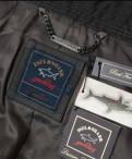 Российские марки уличной одежды, куртка кожа Paul Shark новая оригинал Италия