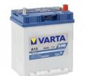 Аккумулятор Varta Asia A13 40 А/ч 330 A об. пол, бмв 3 серии 2003 купе