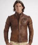 Кожаная куртка Diesel (возможен торг), рубашки sarar купить