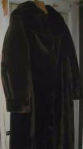 Платье анны костуровой, шуба коричневая длинная мутон