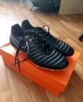 Кроссовки Nike шипованные новые, 41р, модные весенние ботинки мужские