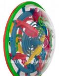 Игрушка головоломка детская шар лабиринт 99 шагов