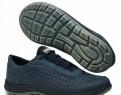 Кроссовки кожаные GriSport 40955-5 синие р.44, мужские кроссовки для бега