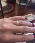 Золотое кольцо 585 пробы с брильянтами