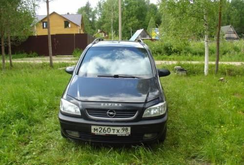 Opel Zafira, 2000, резина на газ 3307 цена бу
