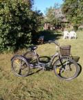 Взрослый трёхколёсный велосипед
