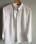 Польская одежда reserved интернет магазин, шифоновая белая блузка Рубашка с бирками классика