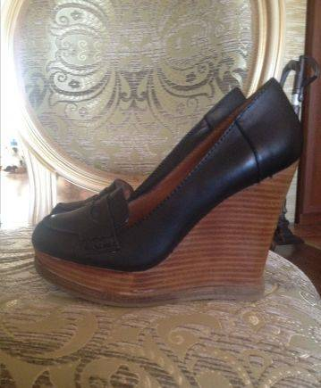 Туфли на платформе Lucky Brand 35 р, женская зимняя обувь интертоп