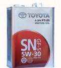 Моторное масло Toyota 5W-30 4 л, контрактный двигатель хонда св 750 купить