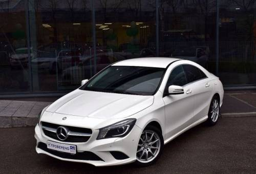 Mercedes-Benz CLA-класс, 2014, авто с пробегом мерседес с класс россия