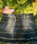 Юбка джинсовая, японские платья с сакурой