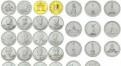 Набор монет 200 лет войне 1812г