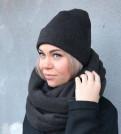 Брендовая одежда moschino, шапка Снуд комплект