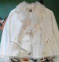 Платье с кружевом сверху и снизу, куртка(шубка)