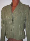 Шерстяные платья с длинным рукавом больших размеров, пиджак зеленый в полоску