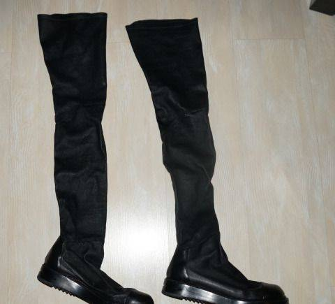 Сапоги Rick Owens (оригинал, Италия ), женские кроссовки puma r698 winterized