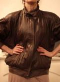 Куртка бомбер из кожи. Европа, платье для женщин купить в интернет магазине