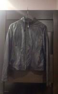 Продам кожаную куртку, платье zolla длинное в цветочек