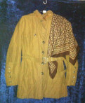 Куртка коричневая 44-46, одежда takko fashion