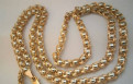 Золотая цепь плетение Шариками 60см 27гр