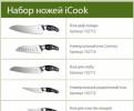 ICook Набор ножей, Сиверский